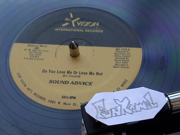 "SOUND ADVICE "" do you love me or love me not "" 12""............TERRIBLE!!!!!!!"