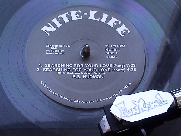 "R.B. HUDMON ""searching for your love"" ORIGINAL 12"" ......TUERIE!!!!!!"