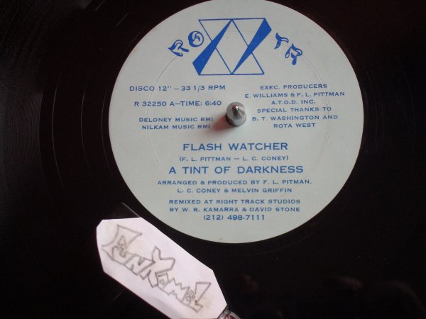 "‌A TINT OF DARKNESS  ""flash watcher"" 12"" ......TERRIBLE!"