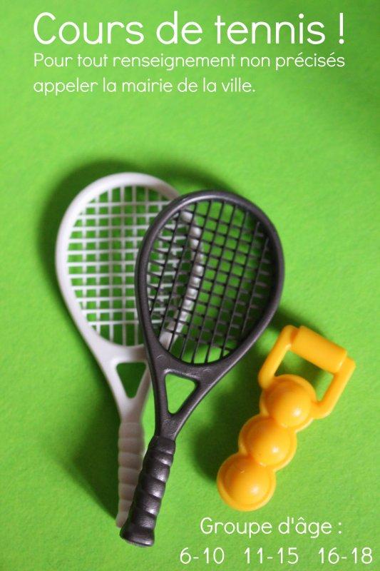 des cours de tennis dans la playmoville ce blog plaira ForUn Cours De Tennis