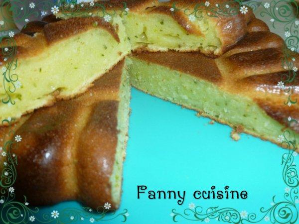 Flan de courgette sucr au thermomix fanny cuisine - Flan courgette thermomix ...