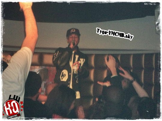 Tyga At KISS Club In Cannes, France
