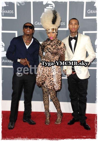 Tyga arrival Grammy