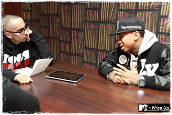 MTV UK THE WRAP UP INTERVIEWS TYGA
