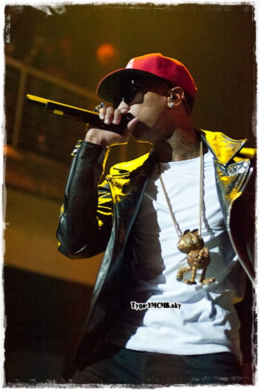 Tyga Performs At The Epic Center In Minneapolis
