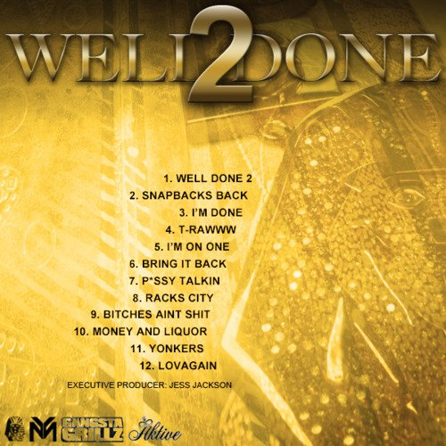 Playlist Cover Officiel Well Done 2