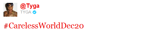 Album Careless World Sort Le 20 Decembre