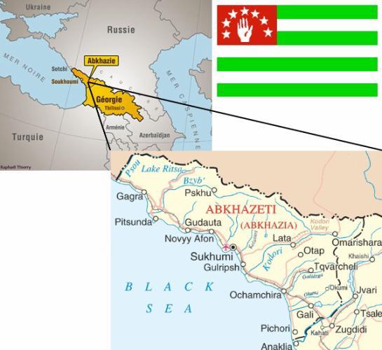 | où est chaRlie ? | localisation : république d'aphsny, abkhazie, caucase