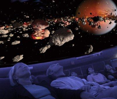   l'objectiƒ   le cinéma 4D