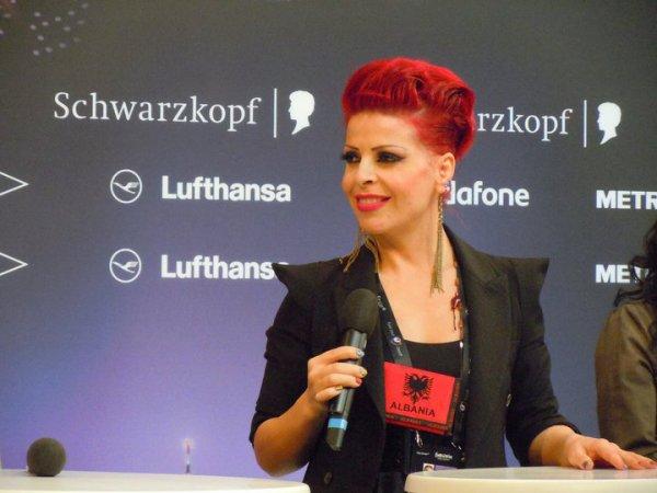 Aurela Gace ...mendoni qe ka me arrit me fitu ni vend mat mirr ne Eurosong?