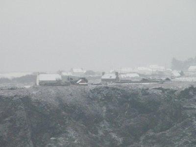 1er d�cembre 2010 : Il neige sur le caillou !