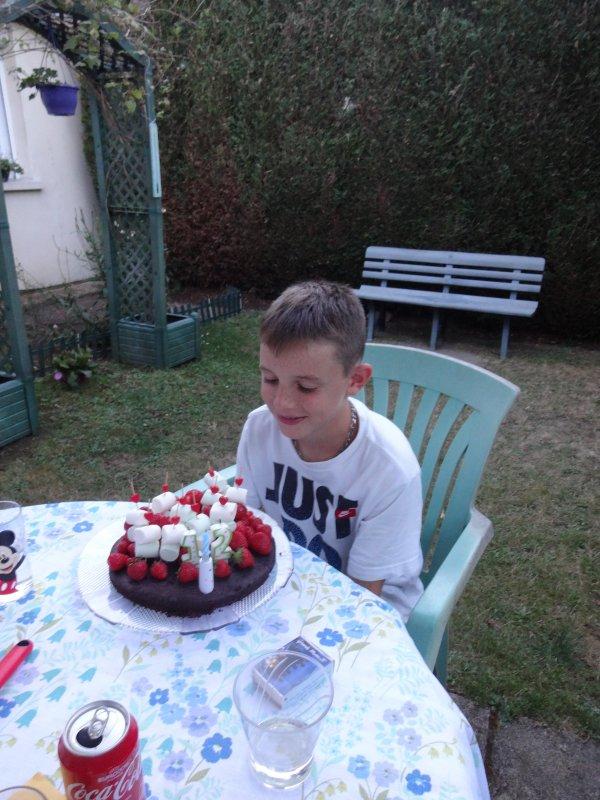 douze ans d�j� pour mon petit fils