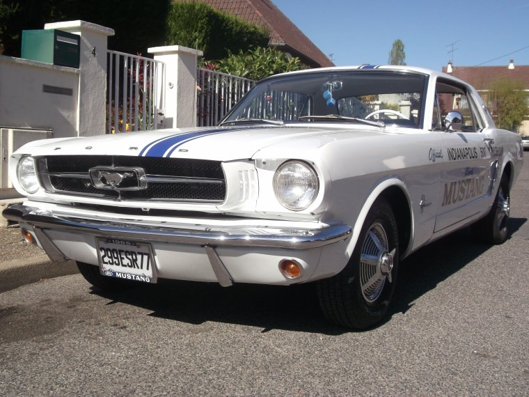 MUSTANG de 1965 : Nouvelle Acquisition