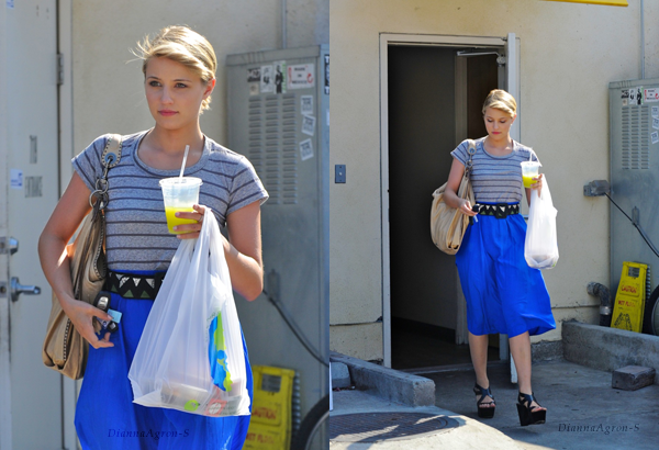 09 Septembre: Dianna �tait � Los Angeles.
