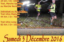 Trail du Canton , samedi 3 décembre 2016 , Beuzeville -la-Grenier , Seine Maritime ...