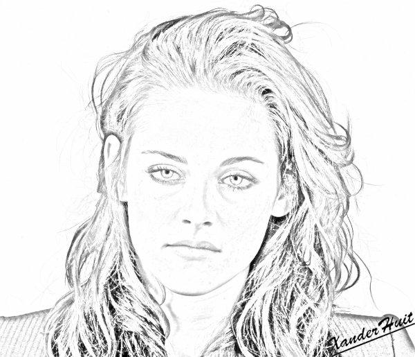 Portrait Kristen Stewart by XanderHuit