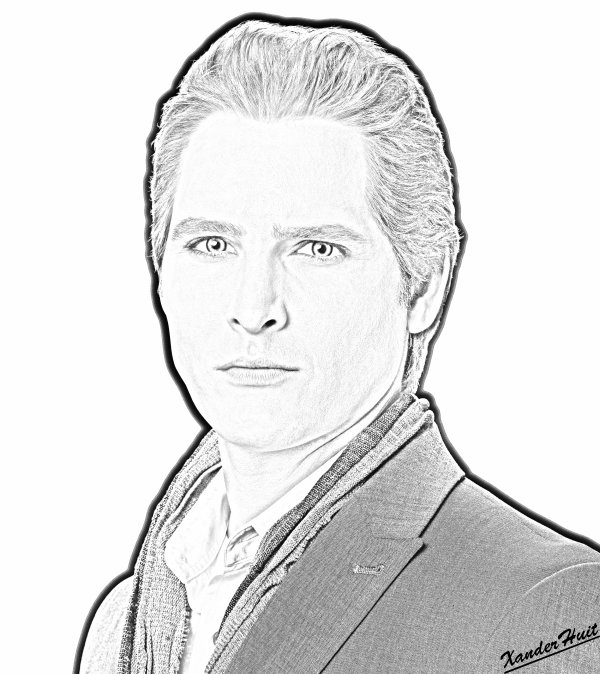 Portrait Peter Facinelli by XanderHuit