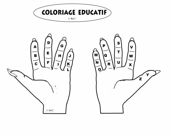 COLORIAGE EDUCATIF MATERNELLE - PICTO BD