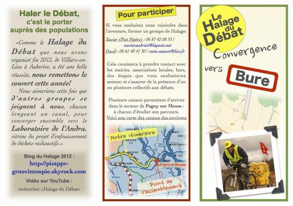 Le Halage du D�bat : on remet �a cet �t�!