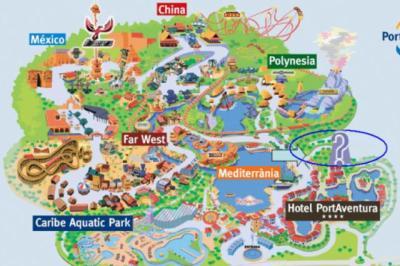 La le plan le blog non officiel de port aventura - Barcelone parc d attraction port aventura ...