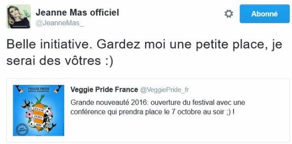 News Twitter - Jeanne de retour bientot en France !
