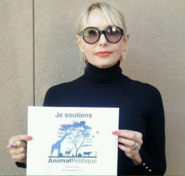 Jeanne soutient la Fondation Bardot pour que la condition animale soit un enjeu électoral ! #animalpolitique.com