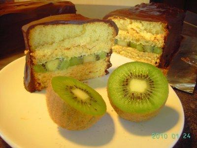 Cake En Accompagnement D Une Mousse Au Chocolat