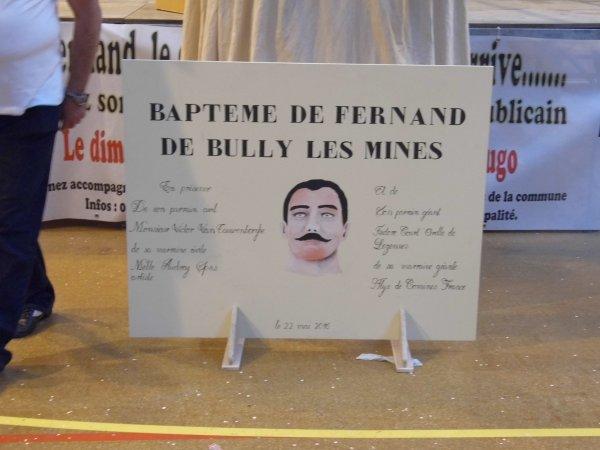 Fernand est n� le 22 mai dernier � BULLY LES MINES...