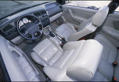 golf 3 cabriolet interieur cuir