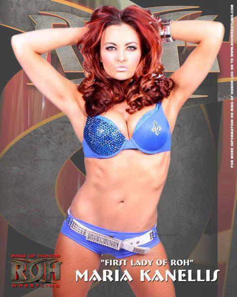 Nouveaux photoshoot pour Maria Kanellis (ROH fédération)