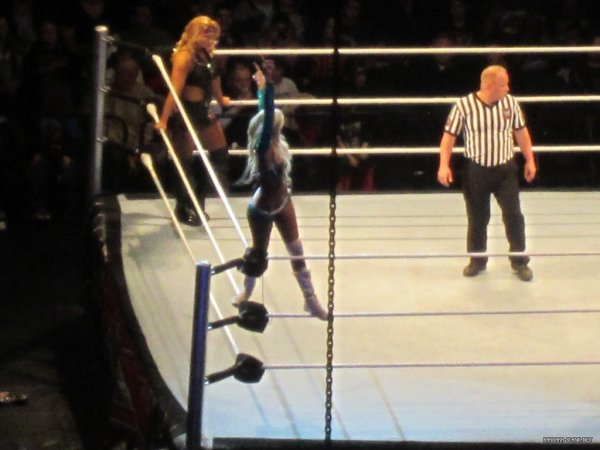 Kelly Kelly & Tamina VS Divas Of Doom