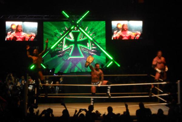 CM Punk, Randy Orton & Triple H VS Dolph Ziggler, Cody Rhodes & Chris Jericho (2)