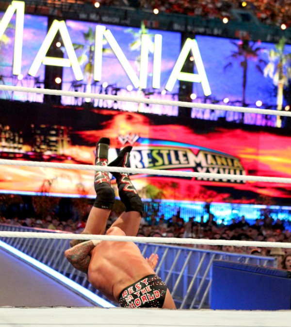 WrestleMania 28 : CM Punk bat Chris Jericho