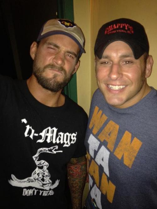 CM Punk, Zack Ryder, Ted Dibiase & Cody Rhodes