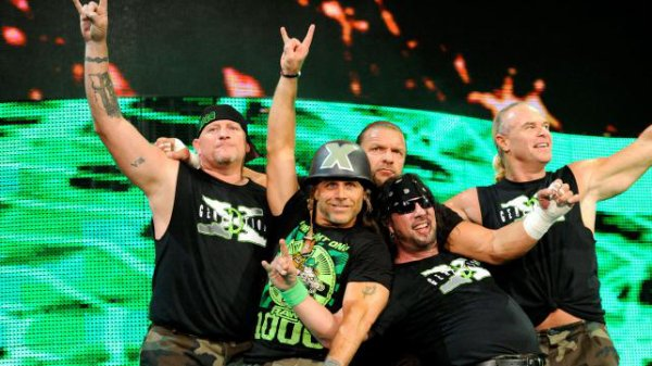 1000éme de Raw: Degeneration X