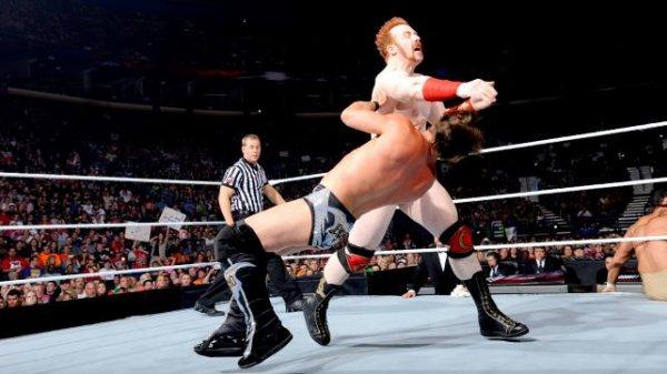 1000éme de Raw: Rey, Sin Cara, Sheamus contre Dolph, Chris Jericho & Alberto