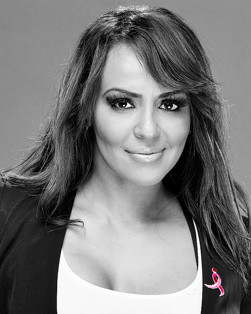 Superstars photoshoot contre le cancer du seins