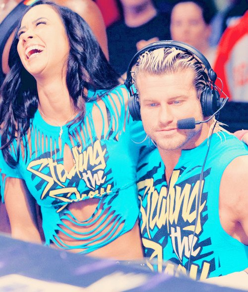 Did aj lee and dolph ziggler hookup in real life
