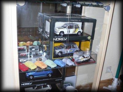 Ma collection en vitrine (: