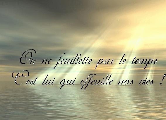 Féérie & Citations, Images    Belle soirée*