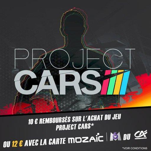 Nouveau bon plan ! Profite de 12� rembours�s sur Project Cars !