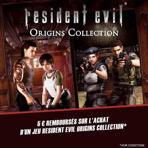 Place au jeu ! 5¤ remboursés sur Resident Evil : Origins Collection