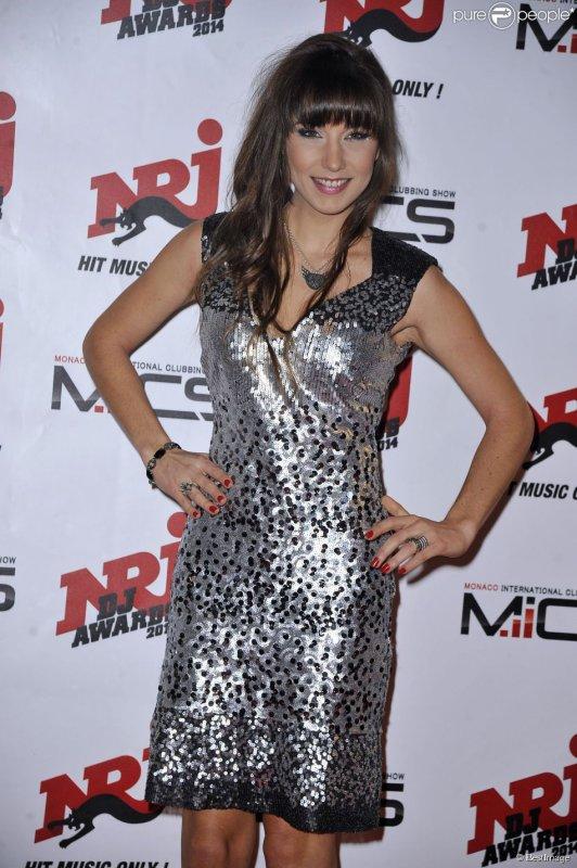 DJ Oriska (habill�e en Christophe Guillarm�, bague Elsa Lee) - Soir�e des NRJ DJ Awards au Grimaldi Forum � Monaco