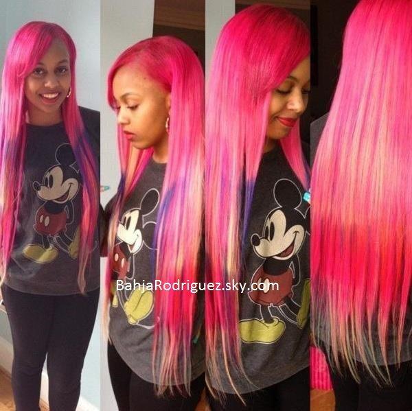 Bahja rodriguez real hair 2014