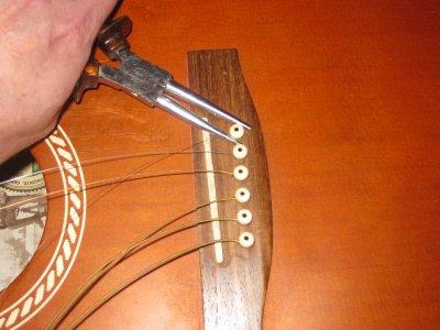 Grand nettoyage de ma guitare