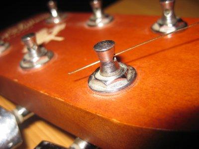 Grand nettoyage de ma guitare 4 éme partie