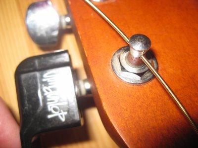 Grand nettoyage de ma guitare 5éme partie