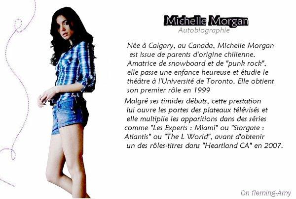 Autobiographie de Michelle Morgan