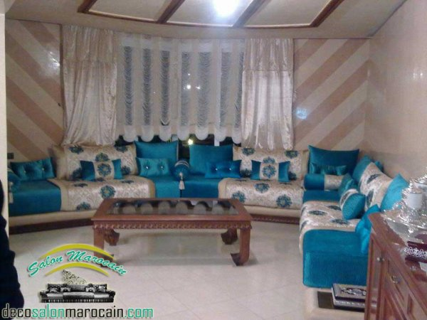 Articles de salons marocain tagg s salon 2014 page 3 top salons morocain decoration for Un salon de luxe