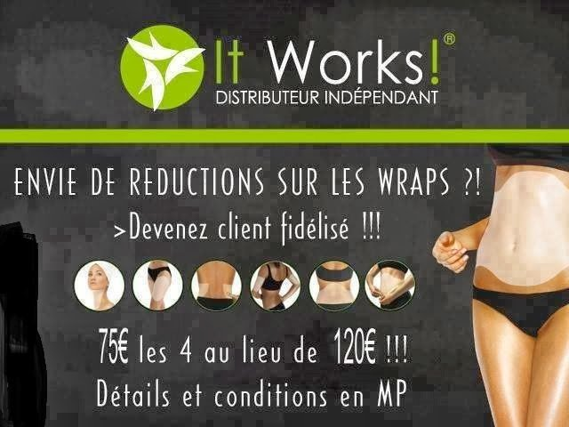 It works global france body wrap minceur devenir for It works global photos